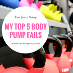 My top 5 Body Pump Fails