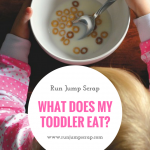 What does my Toddler Eat?