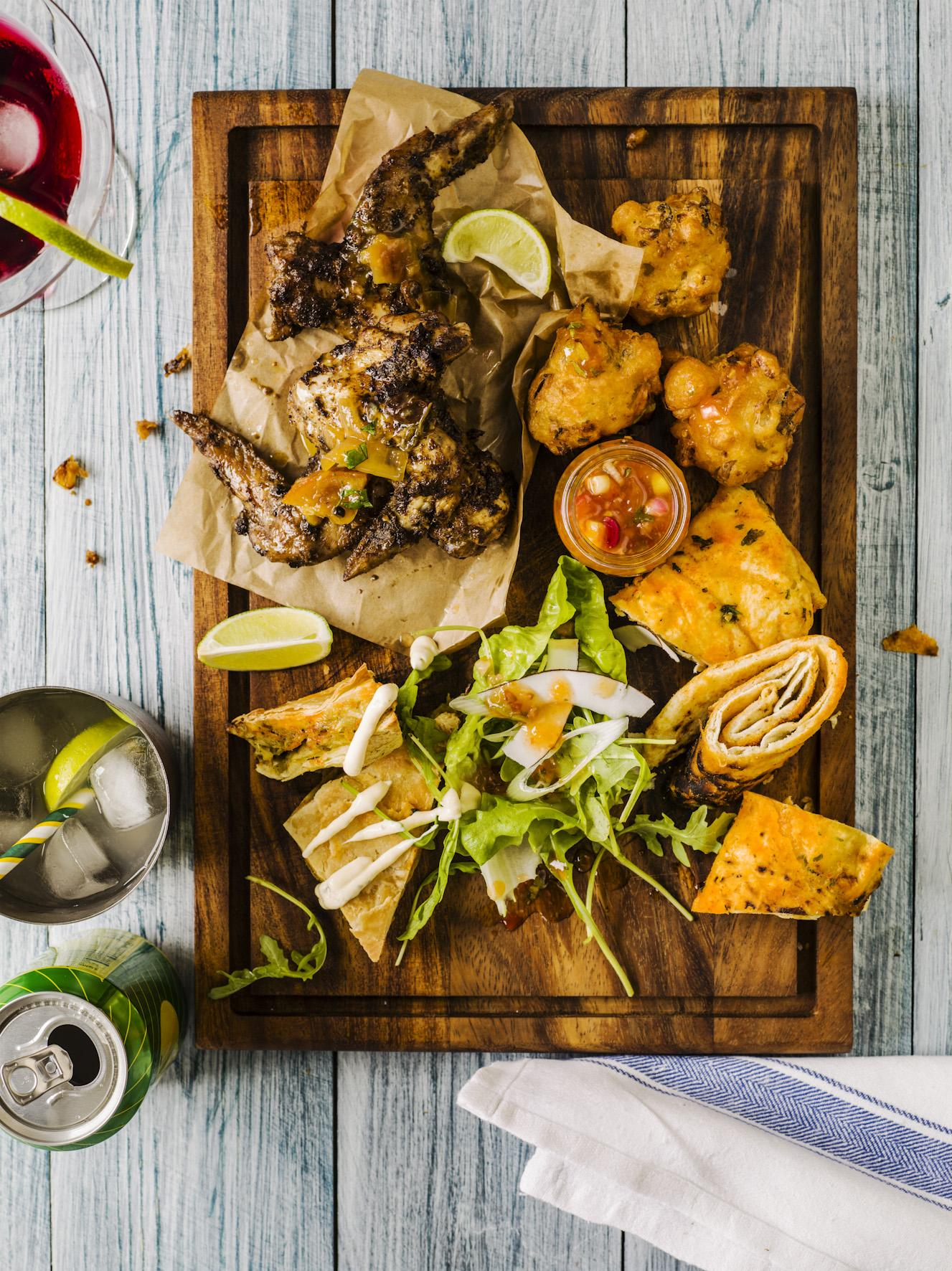 HH Turtle Bay Food Shoot Beach platter 001