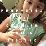 Preparing my Gremlin for a Sibling