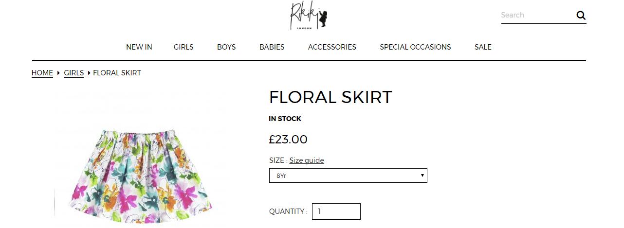 Rikiki London Clothes **Review**