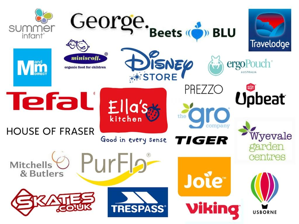 image of brands I have worked with