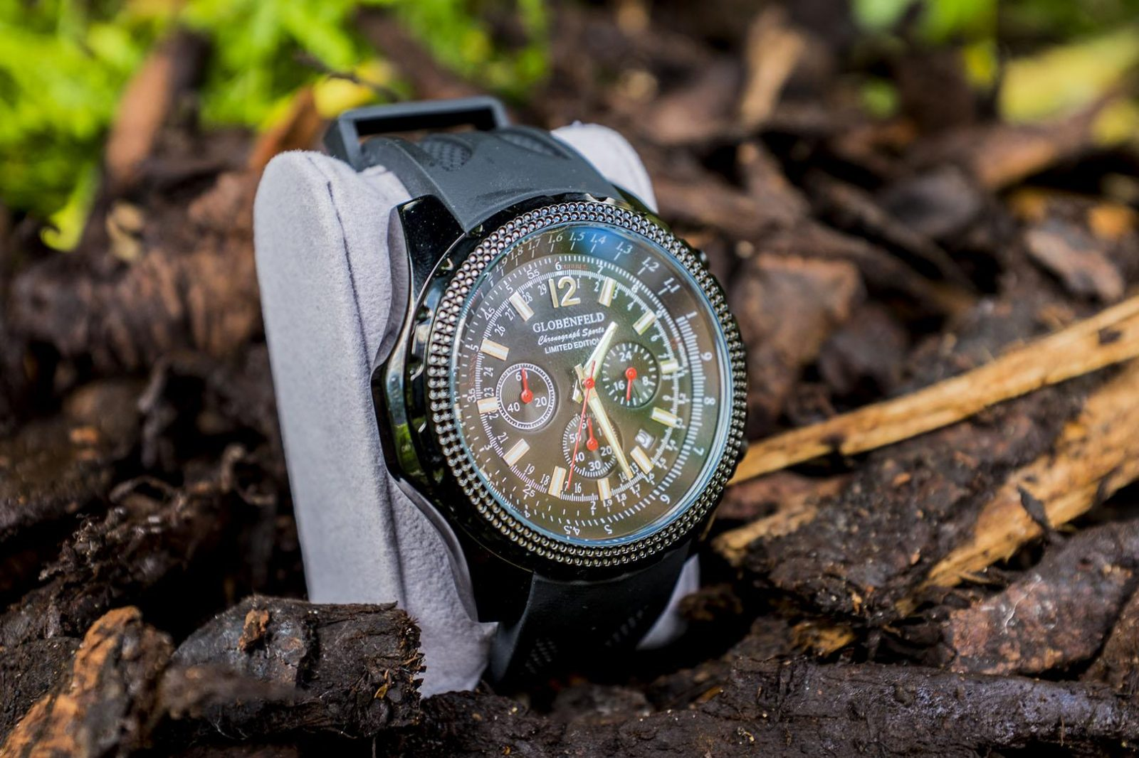Men's Globenfeld Chrongraph Sports Watch **REVIEW and GIVEAWAY**