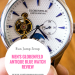 Men's Globenfeld Antique Blue Watch **REVIEW**