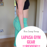 Lapasa Gym Gear **REVIEW and GIVEAWAY**