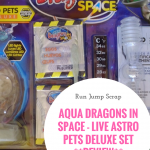 Aqua Dragons in Space – Live Astro Pets Deluxe Set **REVIEW**