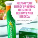 Keeping Your Energy Up During the School Holidays with Berocca