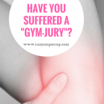 "Have you suffered a ""Gym-jury""?"