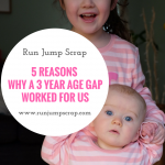 5 Reasons Why a 3 Year Age Gap Worked for Us
