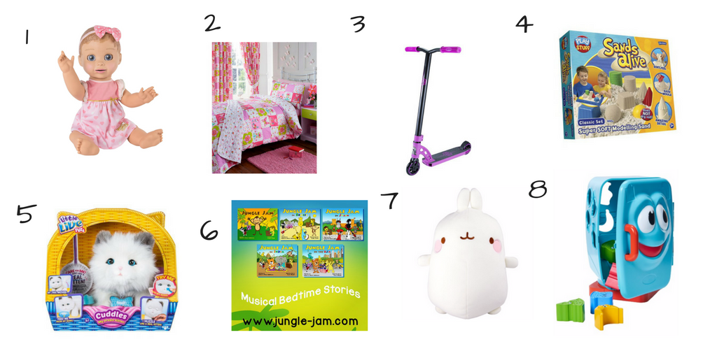Christmas Gift Guide for a 4 Year Old Girl