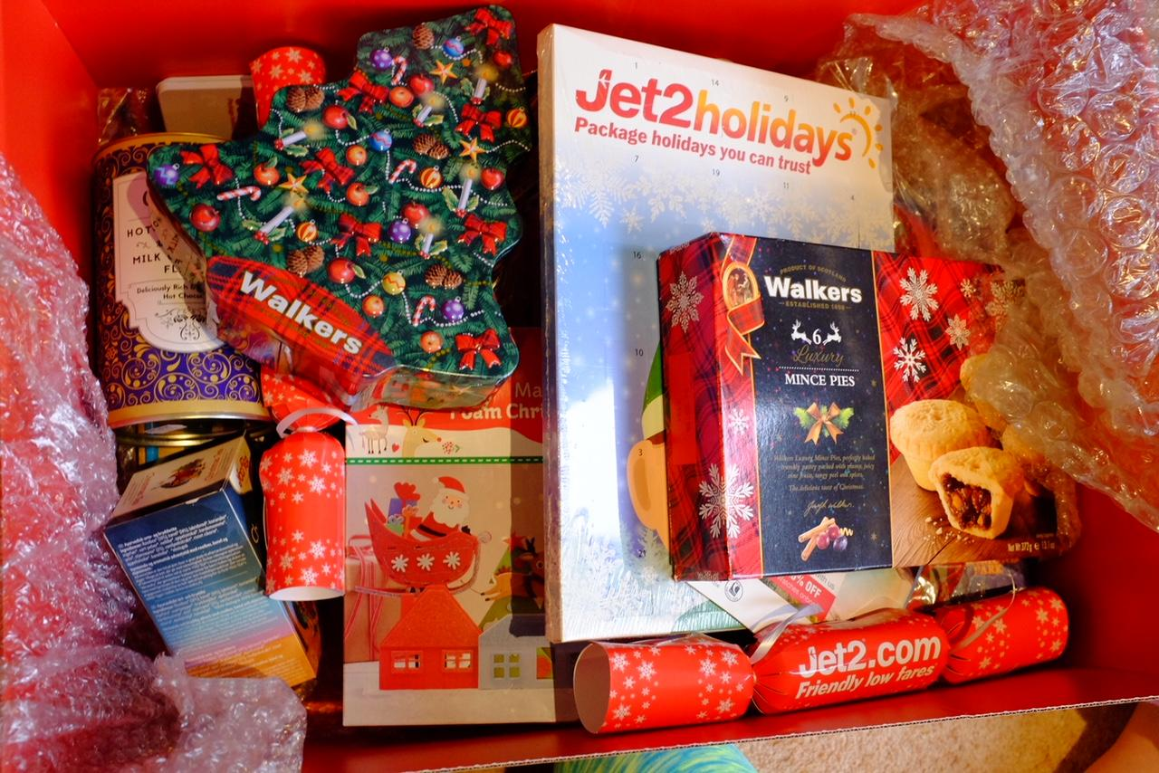 christmas goody box jet2 holidays
