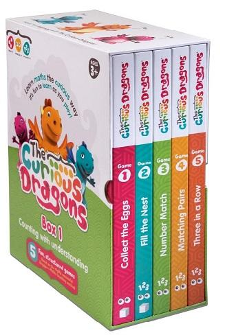 curious dragons box set maths game
