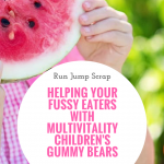 Helping Your Fussy Eater with MultiVitality Children's Gummy Bears
