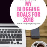 My Blogging Goals for 2018