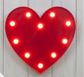 WIN a Light up Heart Cult Furntiture – **GIVEAWAY**