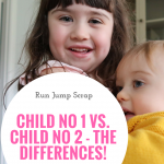 Child No 1 vs. Child No 2 – The Differences!