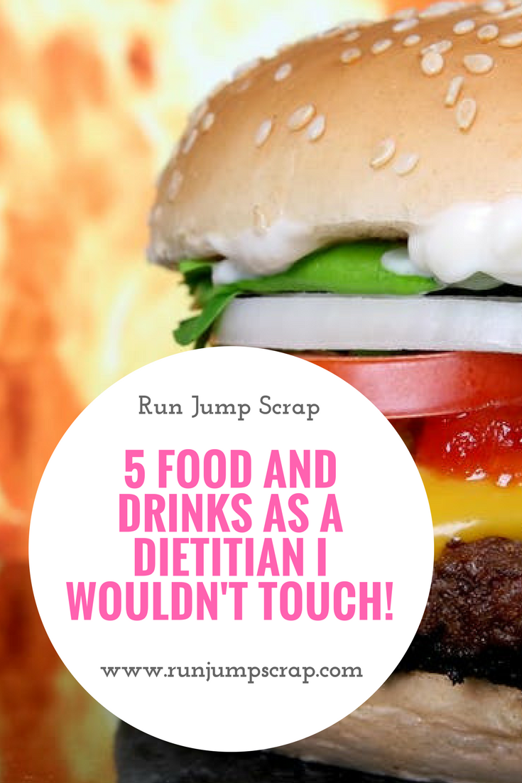 5 Food and Drinks as a Dietitian I Wouldn't Touch!