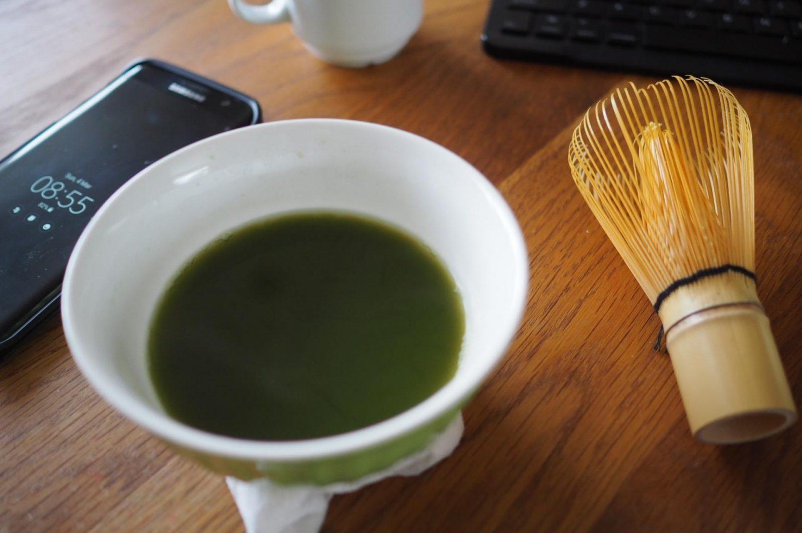 matcha tea by adagio