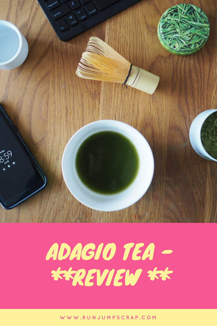 Adagio Tea – **REVIEW and GIVEAWAY**