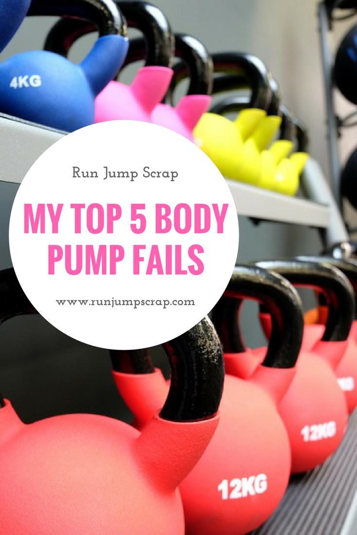 top 5 body pump fails