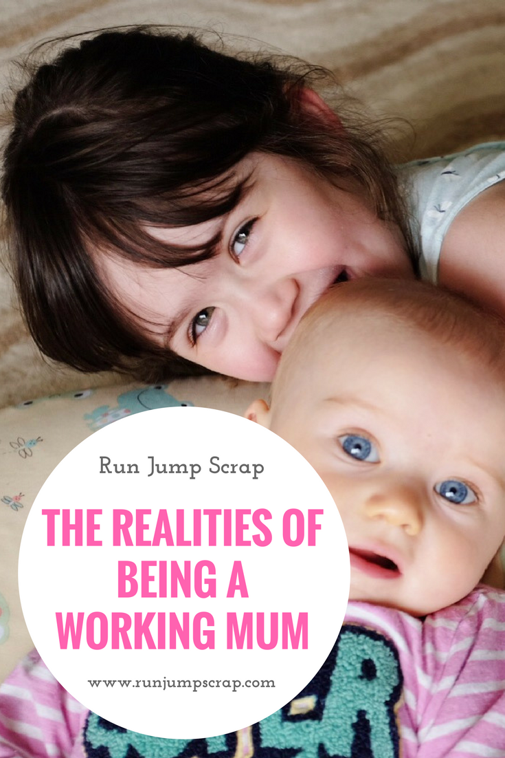 The Realities of Being a Working Mum