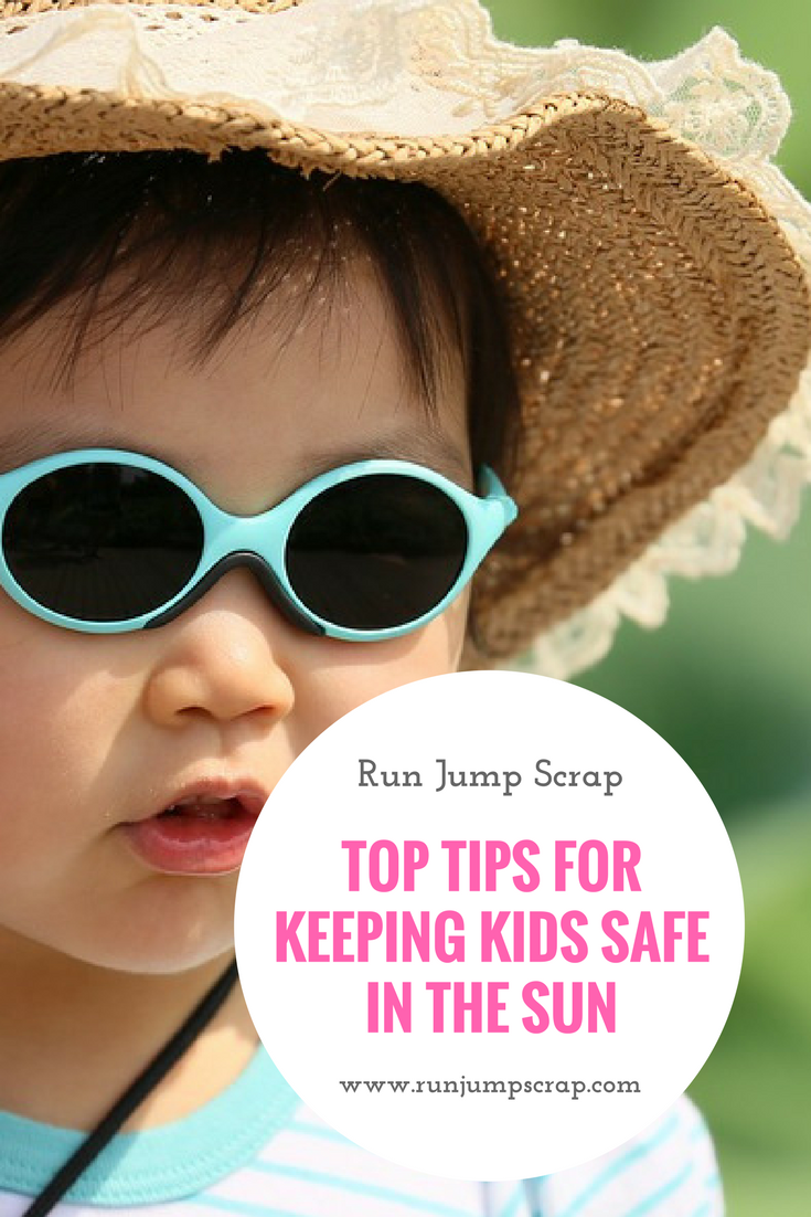 Top Tips for Keeping Kids Safe in the Sun