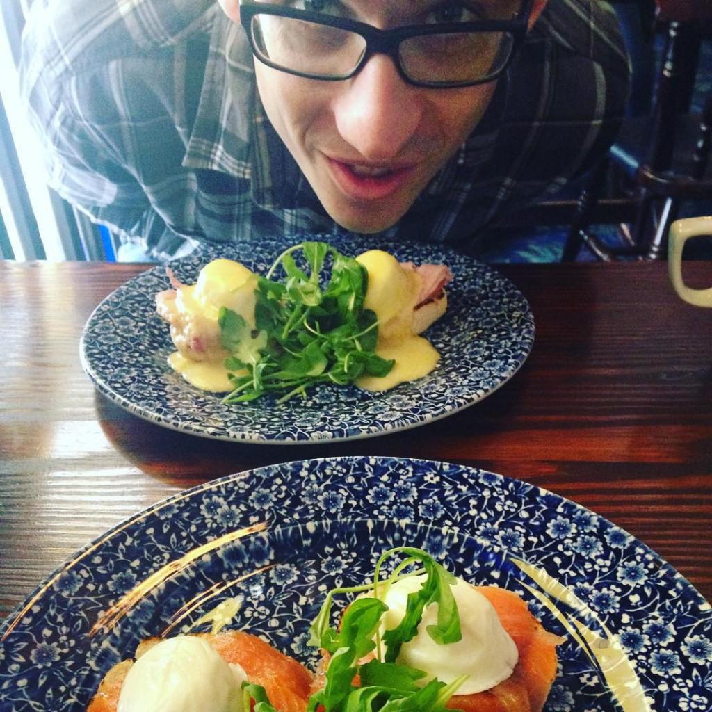 A better #breakfast #eggs #salmon #protein #filling #health #bloggerlodge #date #weekend #break #birmingham #mblogger #blogger