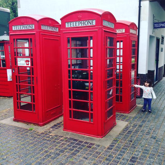 telephone boxes Avoncroft