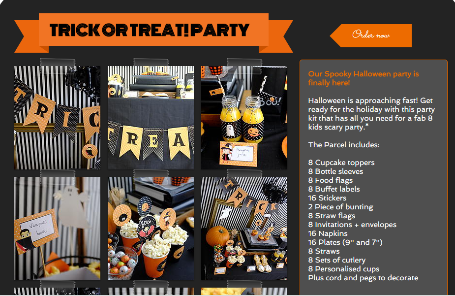 Halloween Party Kits – A Review