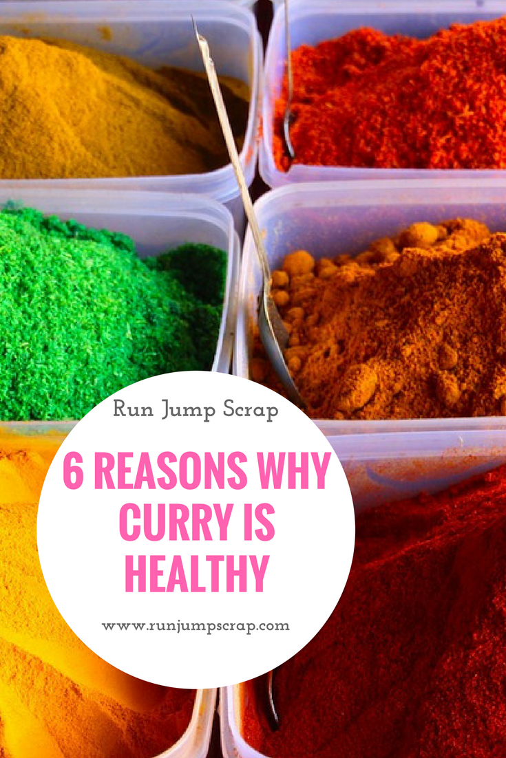 curry is a healthy meal choice