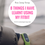 8 Things I have Learnt Using my FitBit