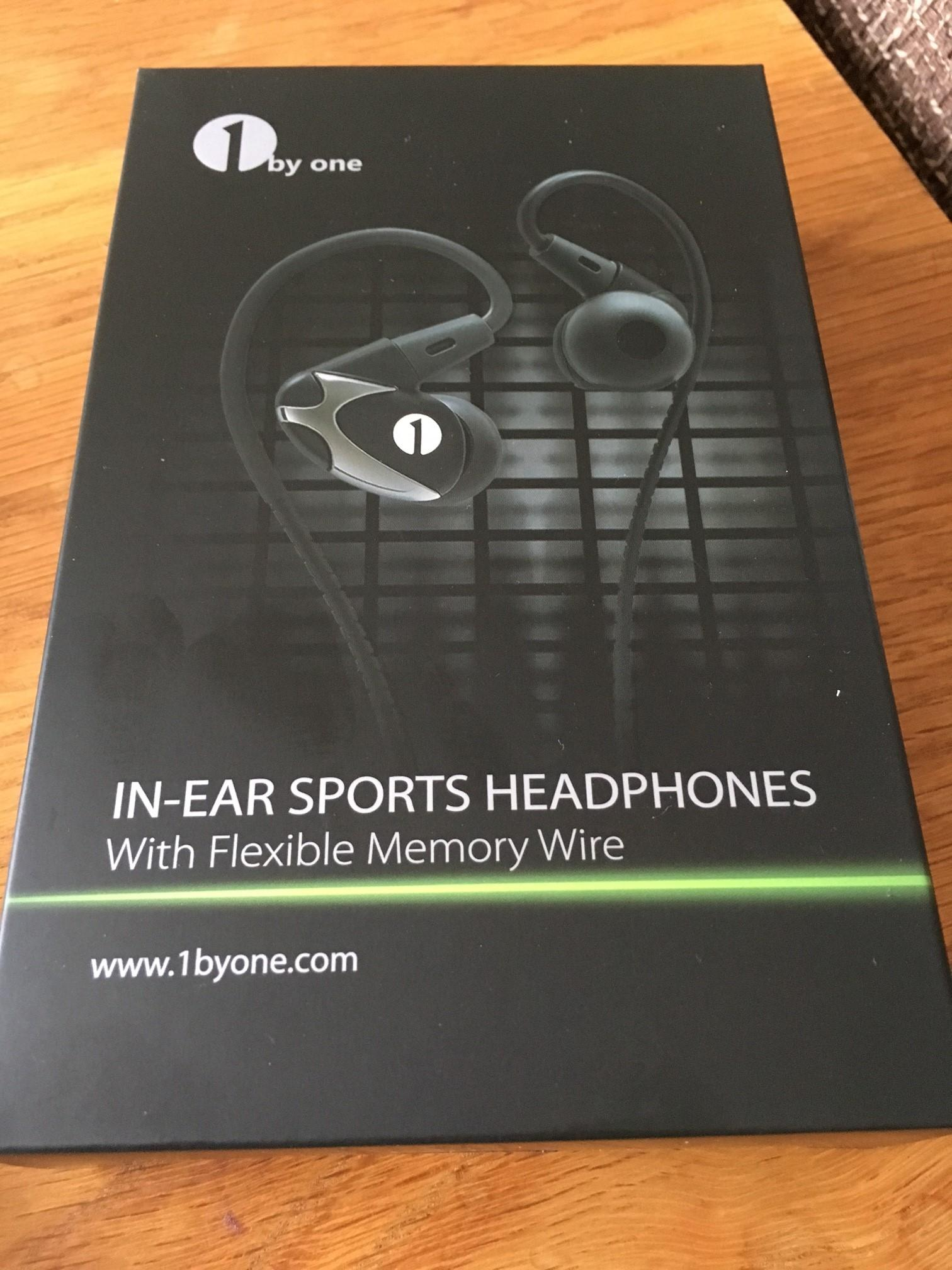 1byone In-Ear Sports Headphones **REVIEW**