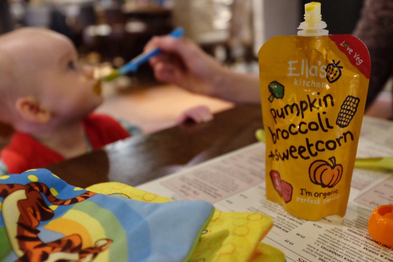 Ella's Kitchen Vegetable Pouches **REVIEW**