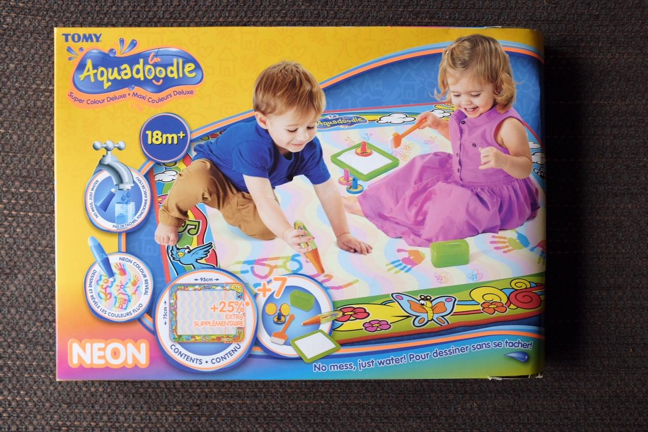 Celebrate with an Aquadoodle Super Deluxe Mat