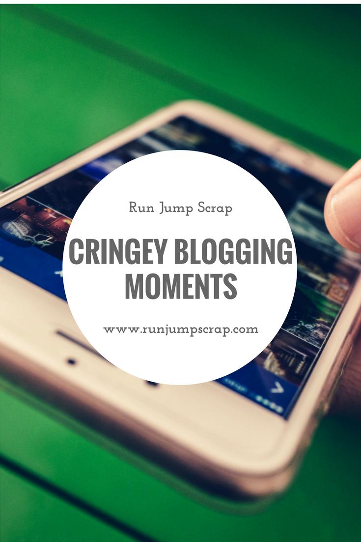 Cringey Blogging Moments
