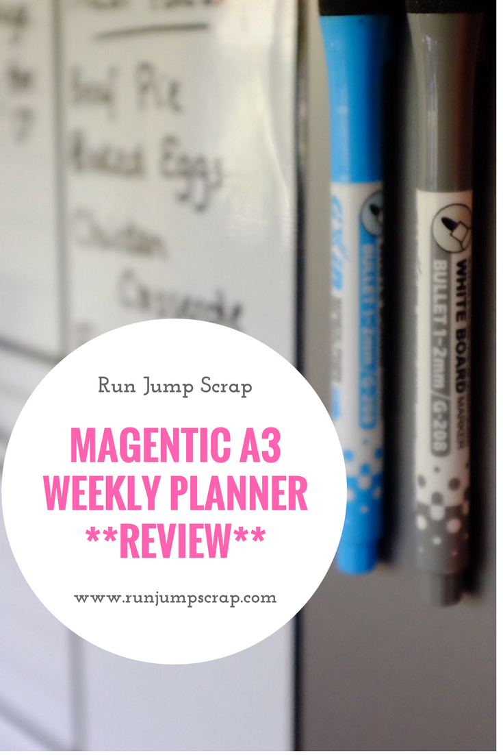 Magentic A3 Weekly Planner **REVIEW**
