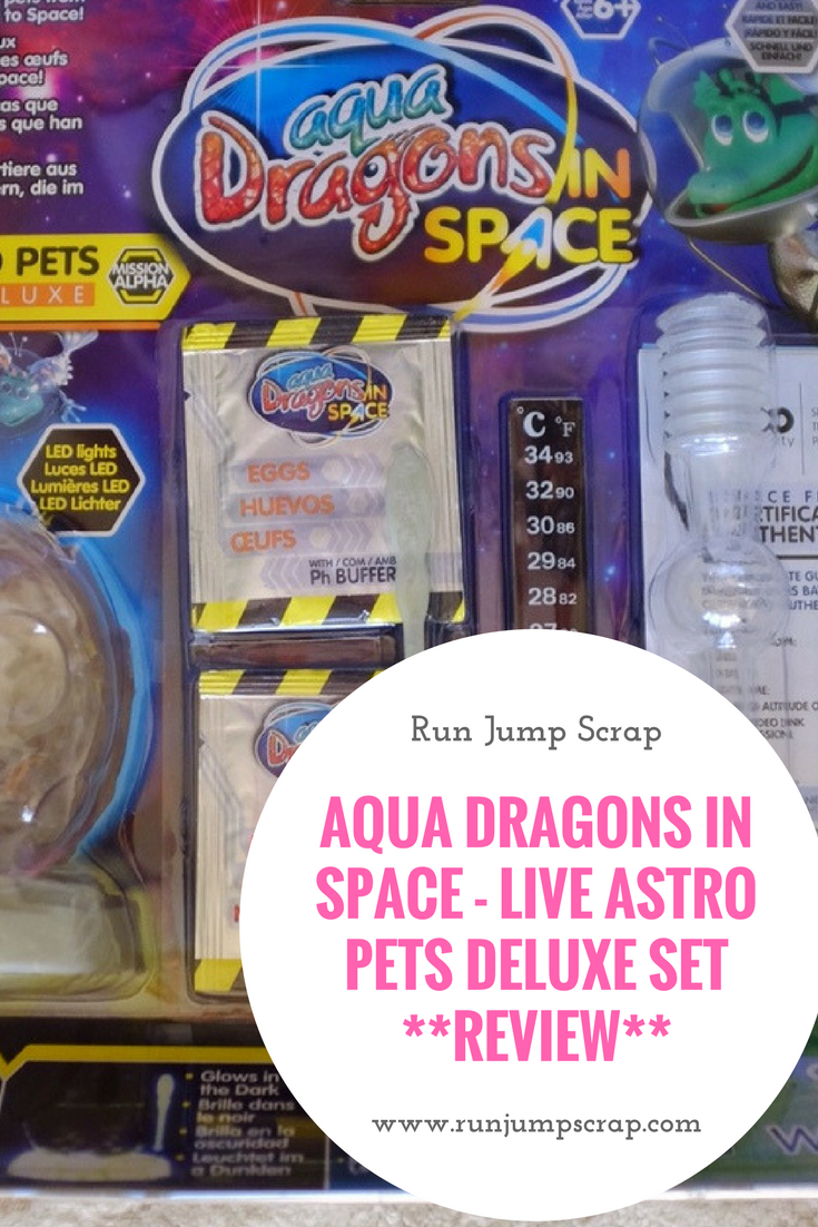 aqua dragons in space review
