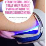 #takethechallenge – treating Plaque Psoriasis with The Philips BlueControl
