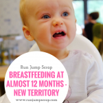 Breastfeeding at almost 12 months – New Territory