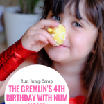 The Gremlin's 4th Birthday with Num Noms