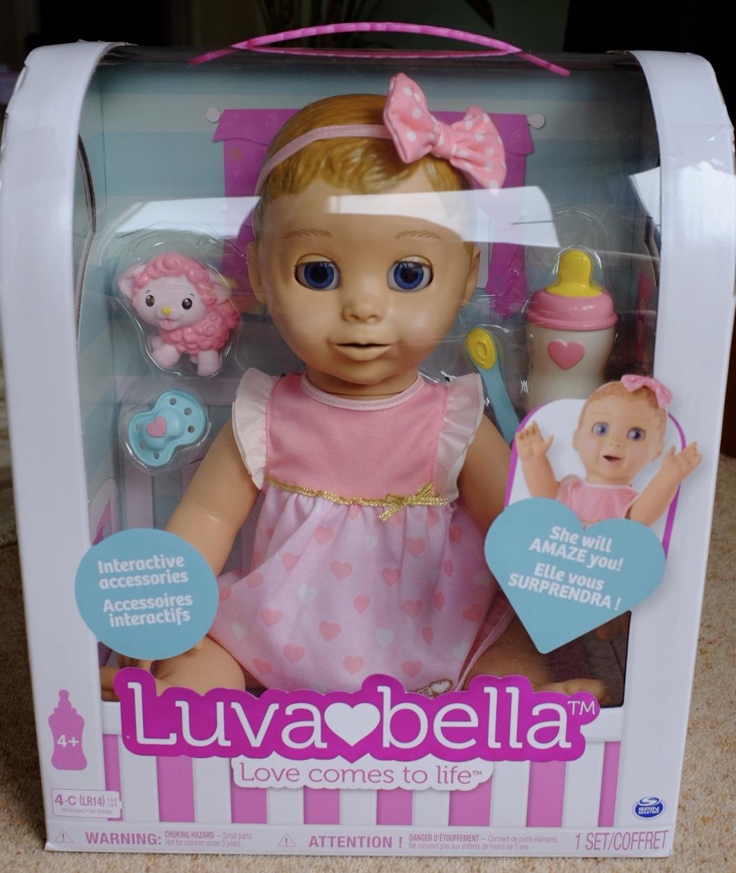 Luvabella doll in box