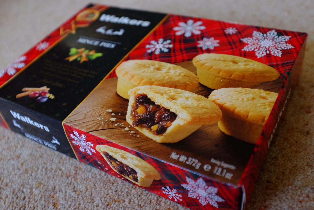 walkers mince pies