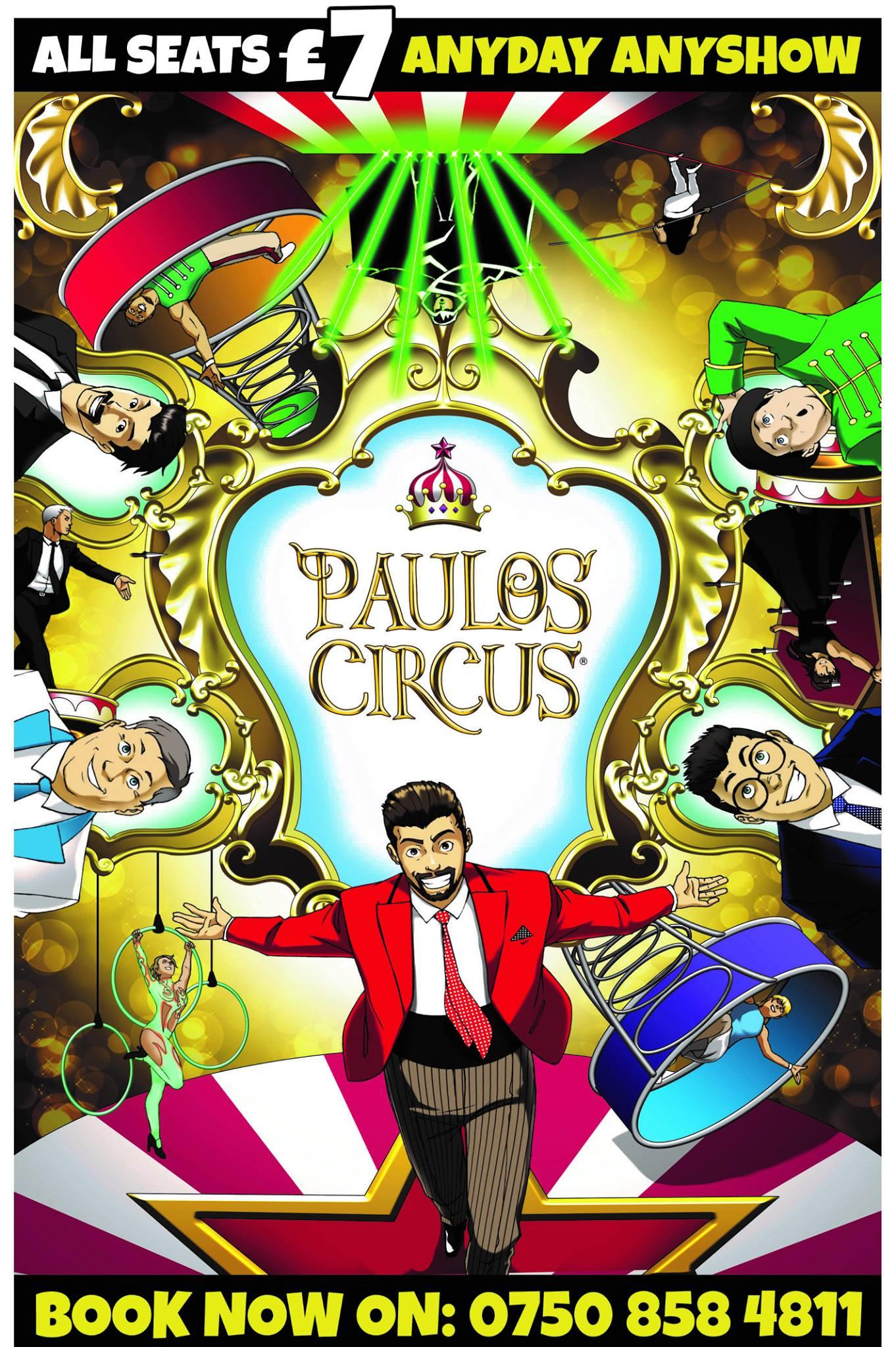 The Paulos Circus Flyer