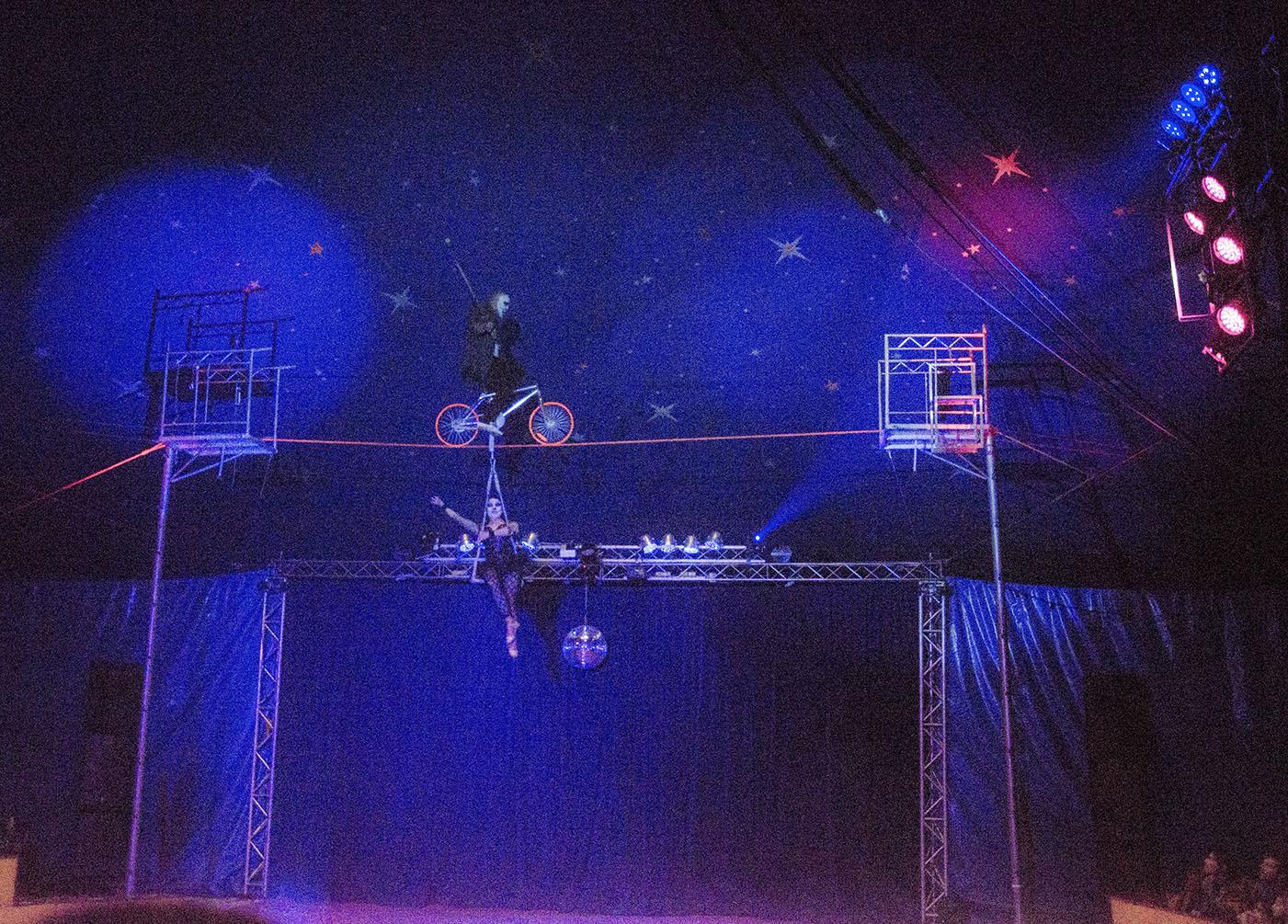 the tight rope the paulos circus
