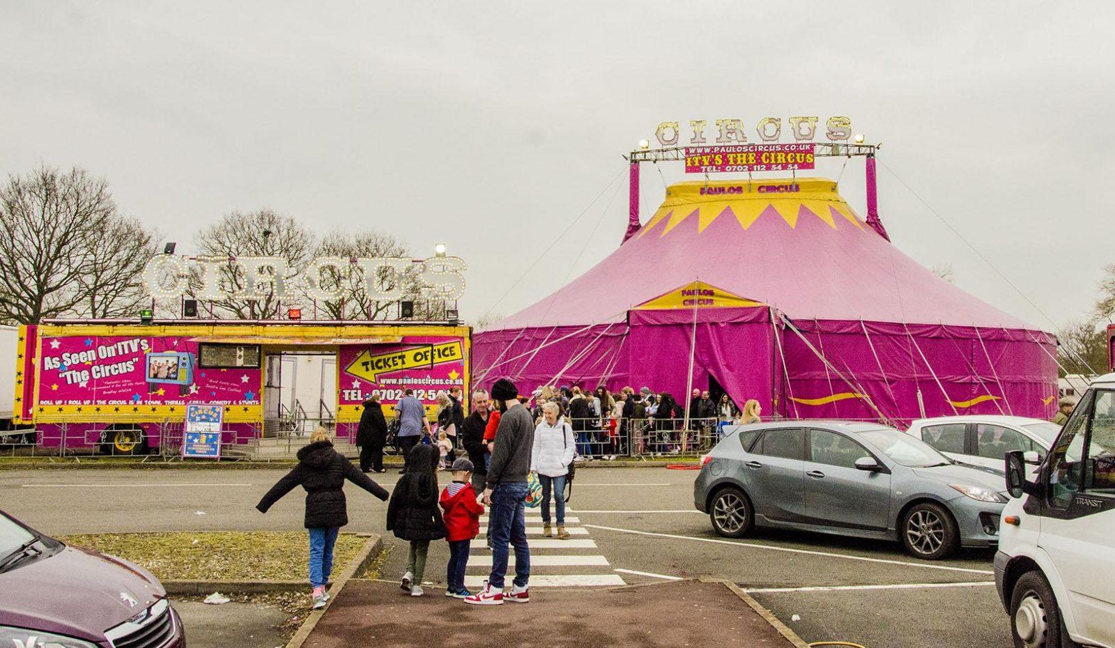 The Paulos Circus Big Top