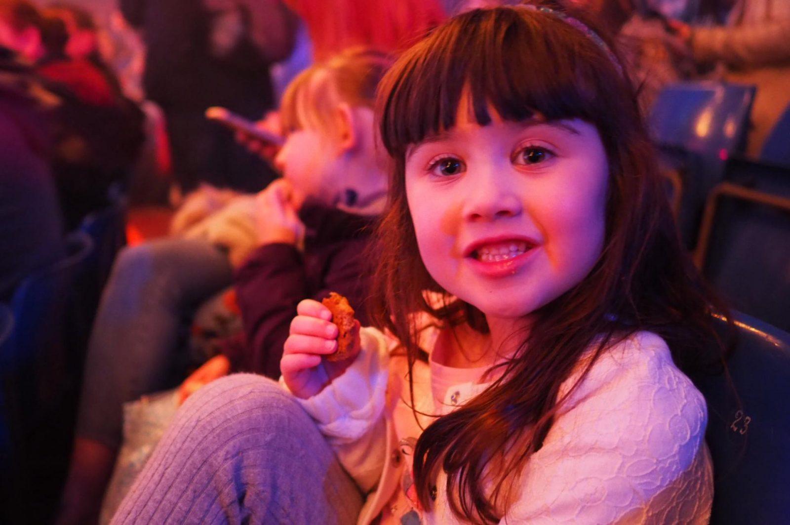 Girl watching The Paulos Circus
