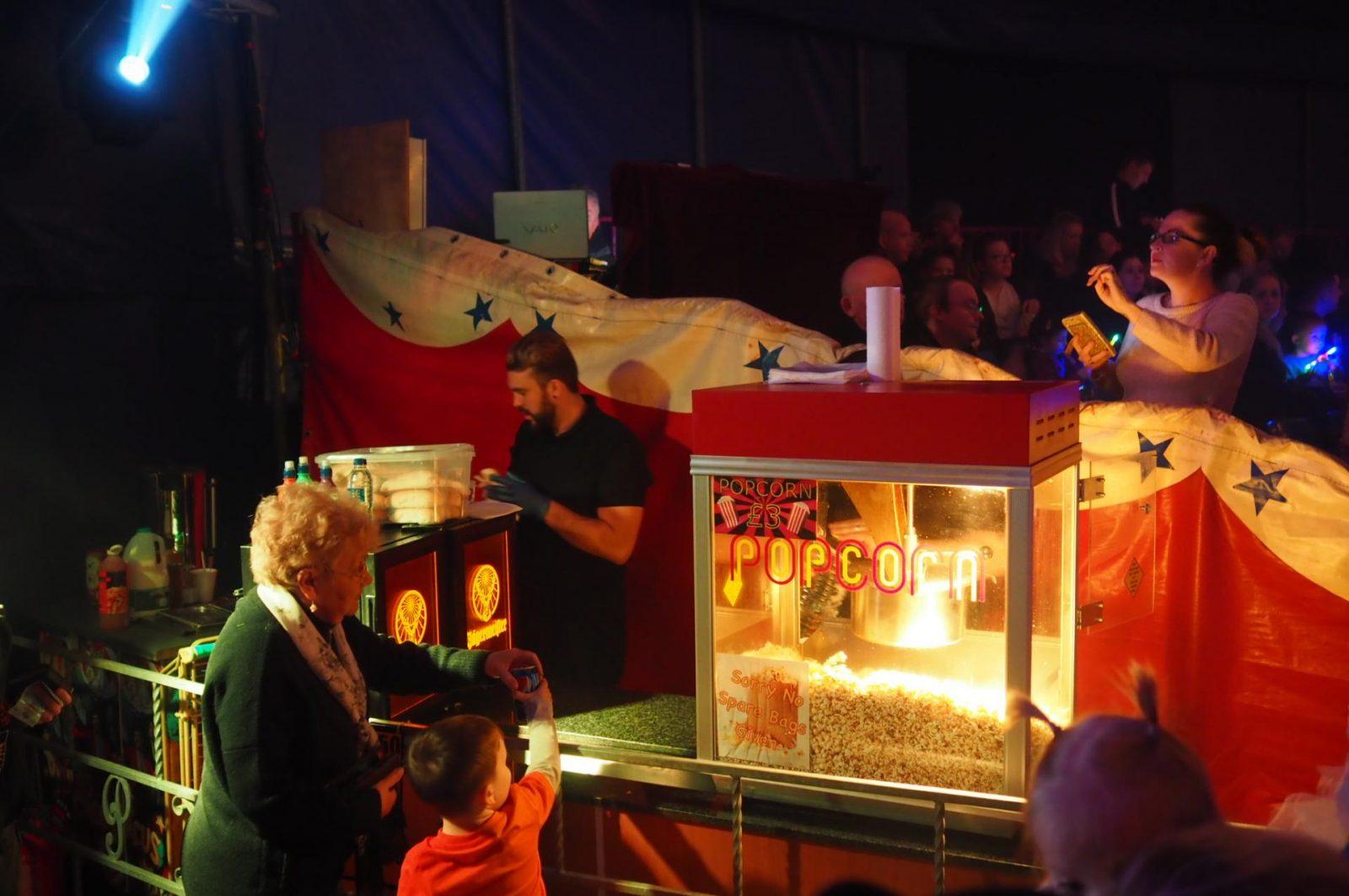 The Paulos Circus popcorn
