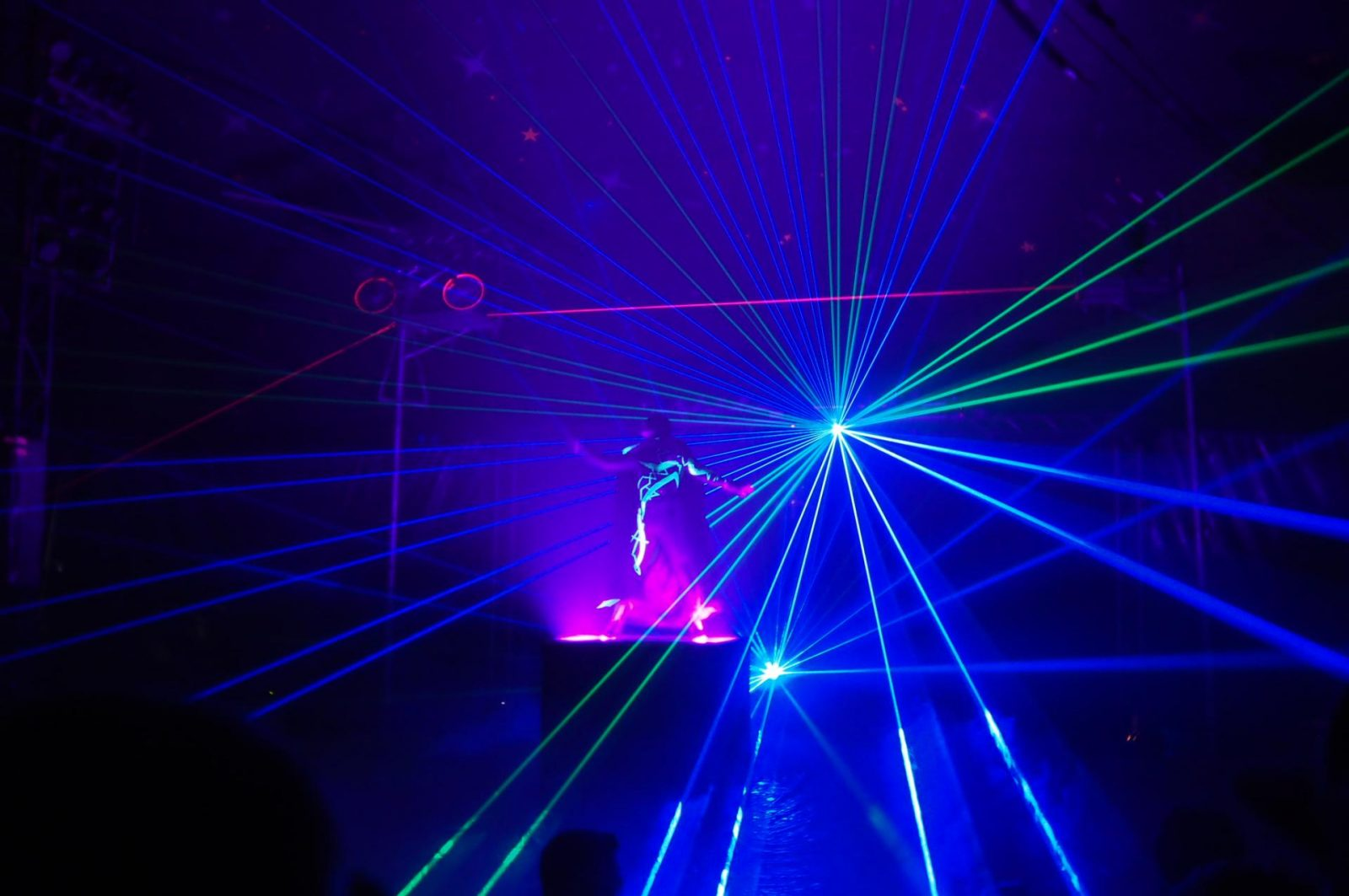 laser show the paulos circus