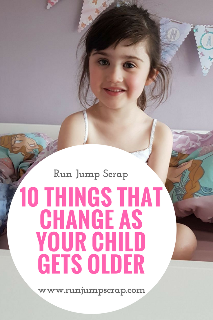 10 things that change as your child gets older