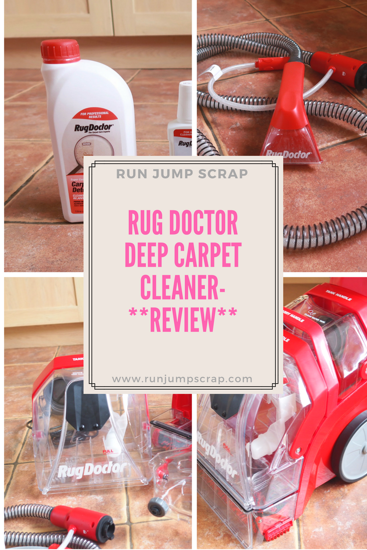 The Rug Doctor Deep Carpet Cleaner Review